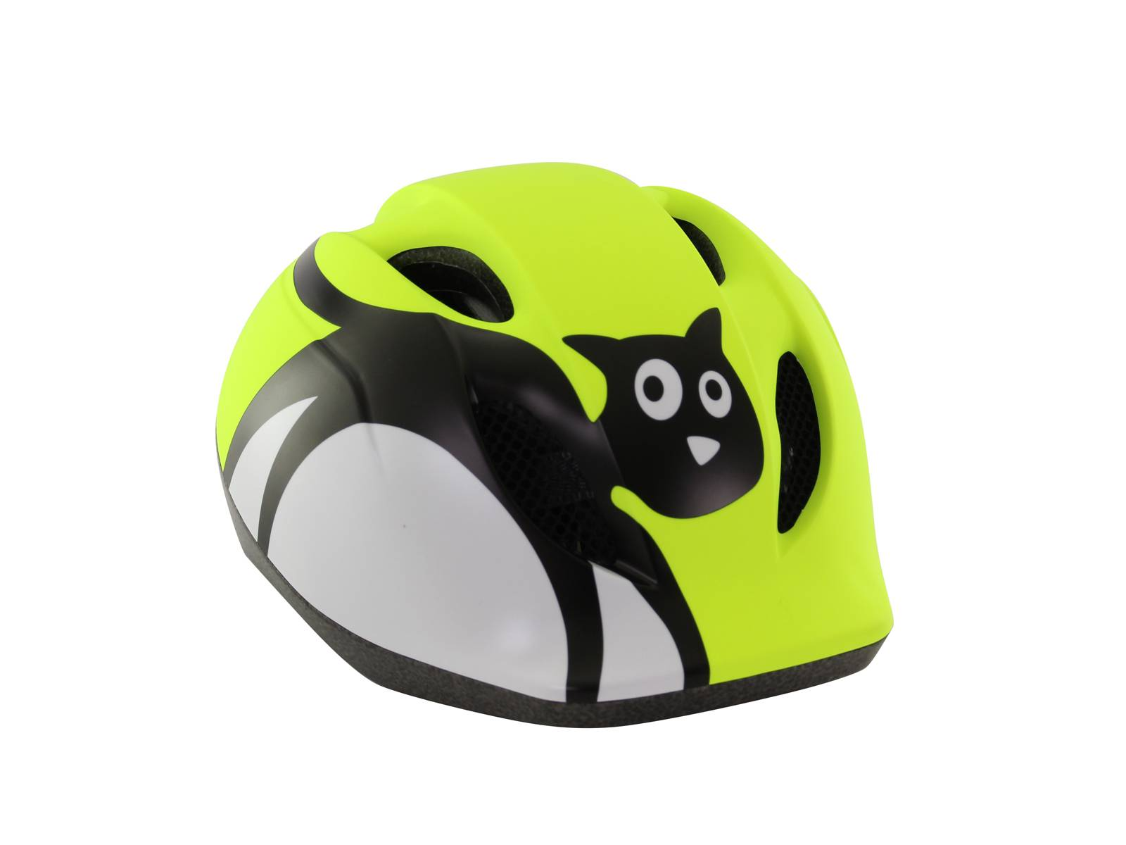 Met kinderhelm Yellow Cat