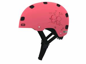 Abus fietshelm Scraper kid 2.0 S roze