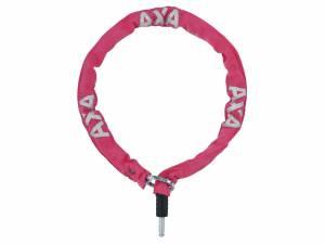 AXA insteek fietsketting RLC 100/5,5 roze