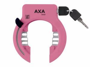 AXA Fiets ringslot Solid XL roze