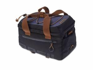 Basil bagagedragertas Miles, zwart