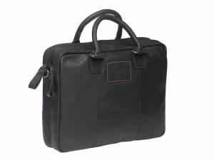 New Looxs Santos laptop schouderfietstas, zwart