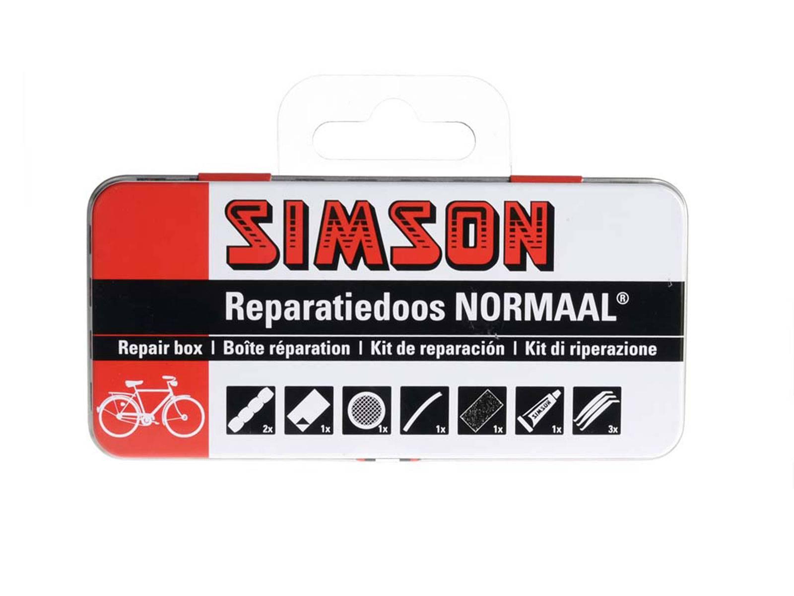Simson fietsbanden reparatie set Normaal