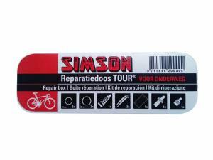 Simson fietsbanden reparatie set Tour