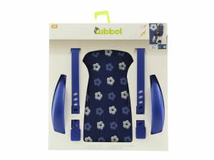 Qibbel luxe stylingset achterzitje Royal Blue