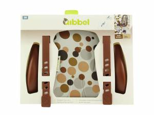 Qibbel luxe stylingset voorzitje Dots bruin