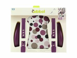 Qibbel luxe stylingset voorzitje Dots paars