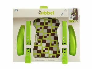 Qibbel luxe stylingset voorzitje Checked groen