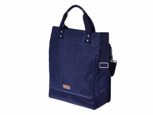 Basil Cross Body fietstas Urban Fold blauw